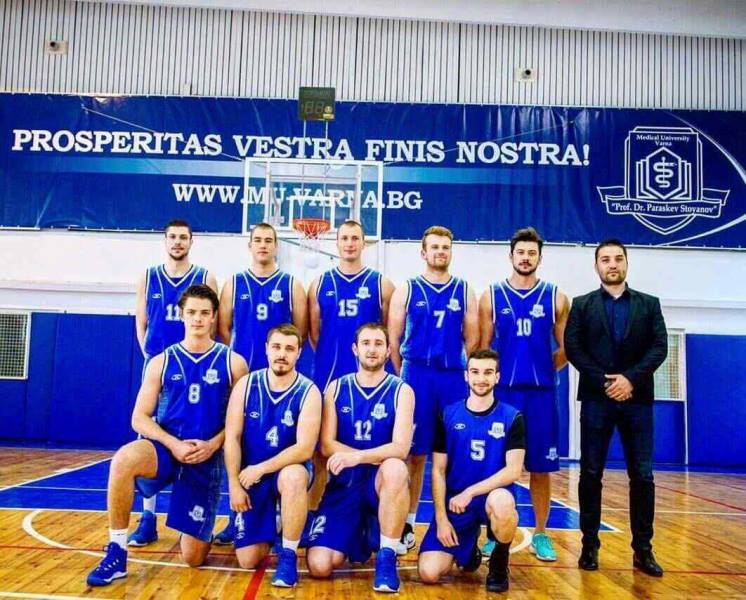 A Student from MU-Varna Scored a Record Number of Points in the National Amateur Basketball League