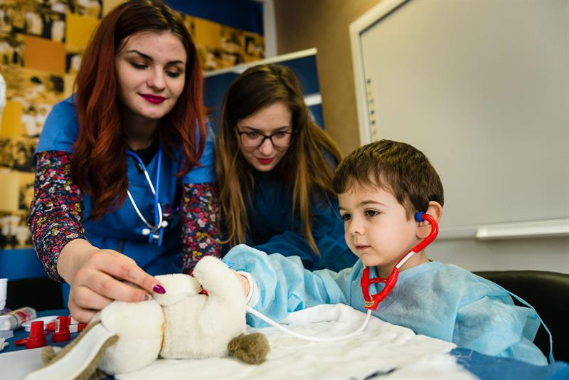 For the Eighth Consecutive Year the Students at MU – Varna Have Conducted the Campaign Teddy Bear Hospital