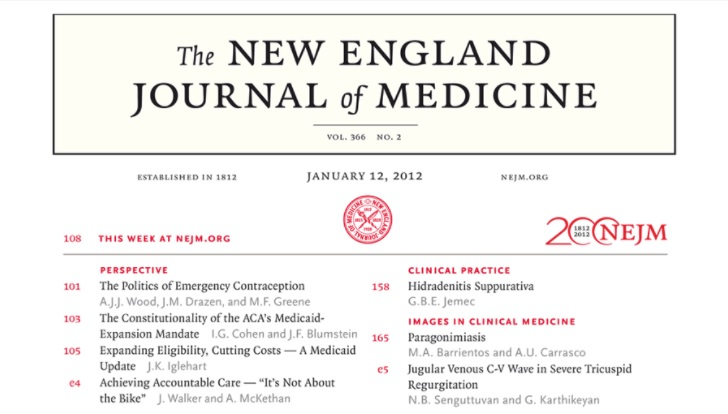 Free trial access to The New England Journal of Medicine