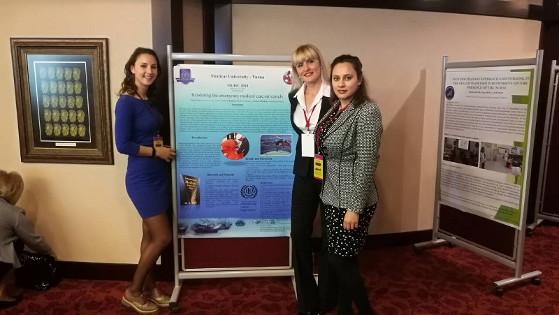 Students at MU-Varna Presented a Scientific Work at an International Student Congress