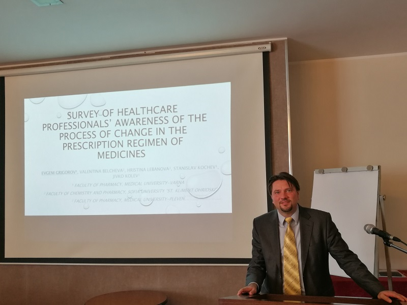 A Professor from MU – Varna Took Part in a Scientific Symposium in Social Pharmacy in Belgrade
