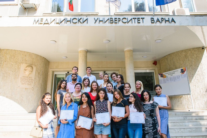 Moscow Students Received Certificates of Completion of Summer Internship at MU-Varna