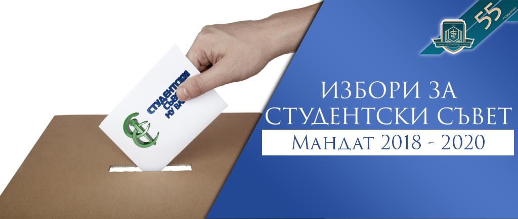 Избори за попълване квотите на членове на Студентски съвет – кандидатури